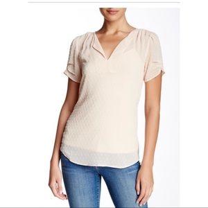 Blush blouse